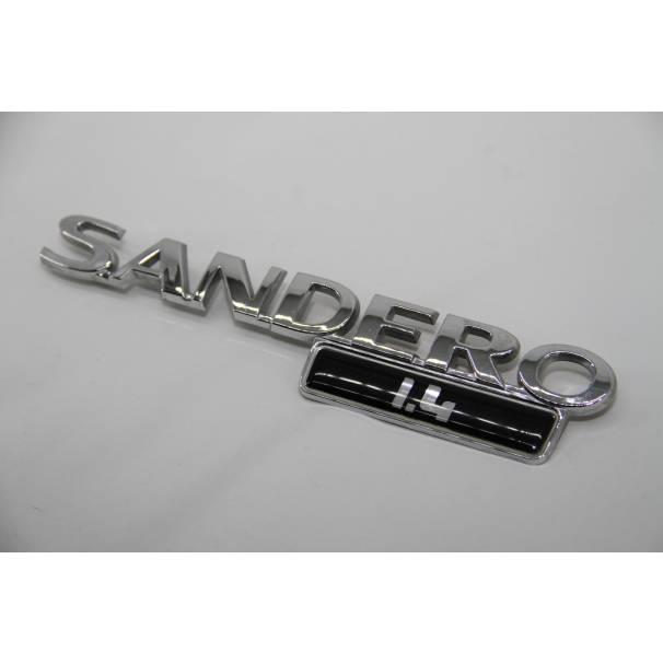 Эмблема надпись SANDERO 1,4 RENAULT
