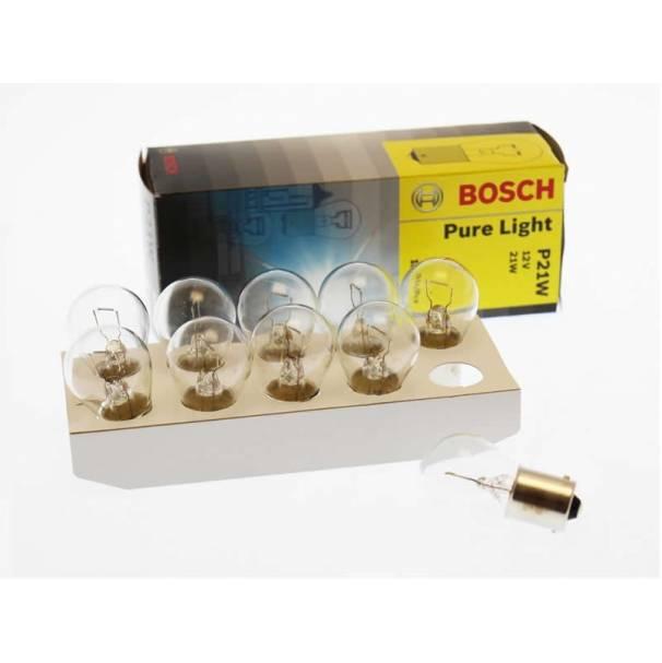 Лампа P21W 21Вт BOSCH