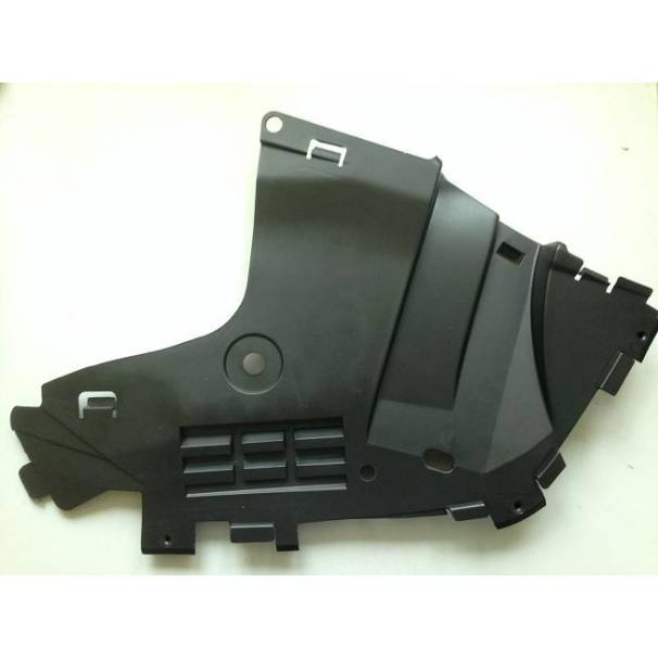 Защита бампера переднего (дефлектор) L2, LAR правая ASAM