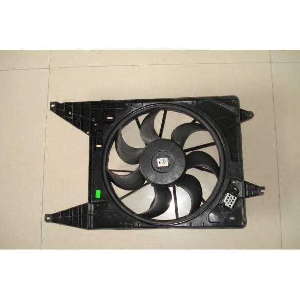 Вентилятор радиатора L1 (до 2008 года) c кондиционером (нет защитного кожуха на моторчике) TERMAL