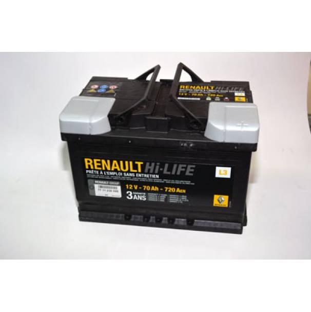 Аккумулятор 276x175x190 70Ач 720А RENAULT
