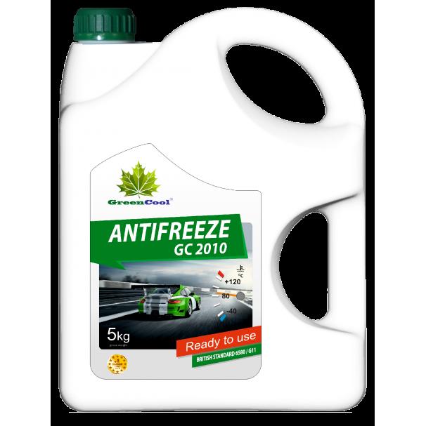 Антифриз G11 (зеленый) 5л готовый GREENCOOL