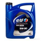 Масло моторное cинтетическое EVOLUTION 900 SXR 5W30 (4 л) ELF