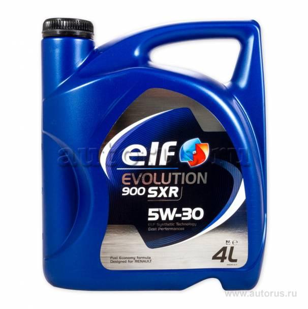 Масло cинтетическое EVOLUTION 900 SXR 5W30 (4 л) ELF