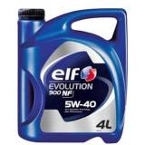 Масло моторное cинтетическое EVOLUTION 900 NF 5W40 (4 л) ELF